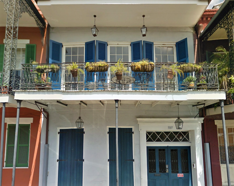 April 2017 At Home in the Vieux Carré