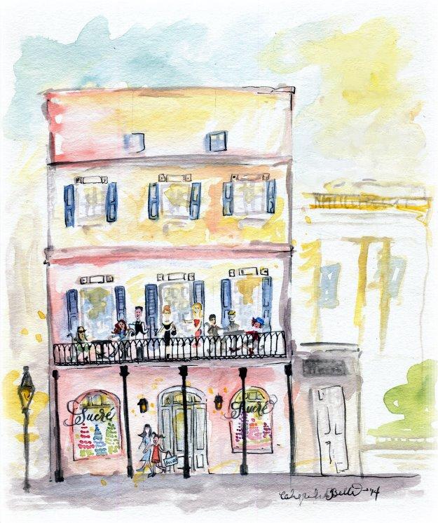 salon watercolor