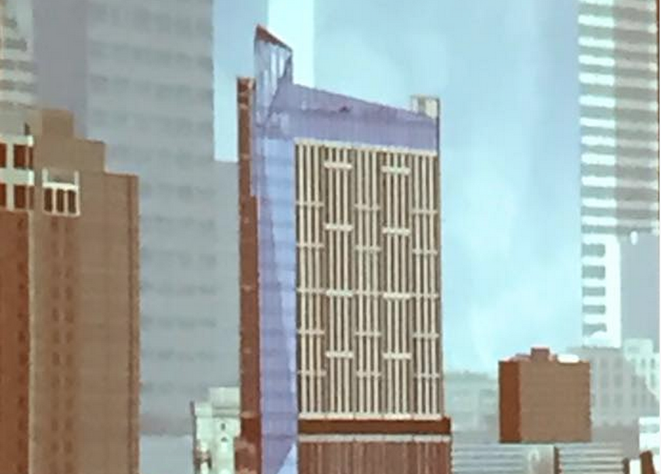 Proposed tower for 400 block of Canal