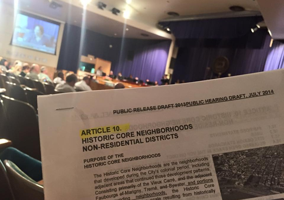 City Council Meeting on the CZO: the Good, the Bad, and the Ugly