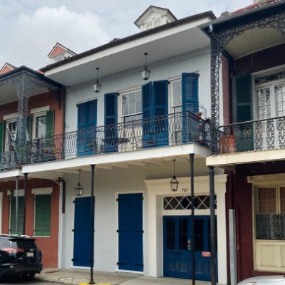 At Home in the Vieux Carré: May 21, 2021