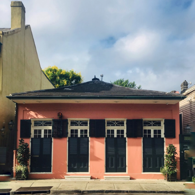 At Home in the Vieux Carré: October 25, 2019