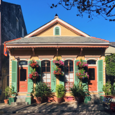 At Home in the Vieux Carré: April 5, 2019
