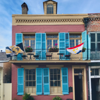 At Home in the Vieux Carré: March 22, 2019
